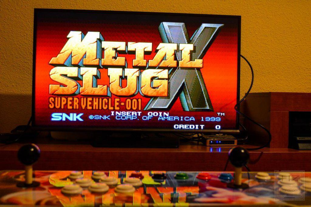 Consola arcade 1760 en 1 - Metal Slug X 2