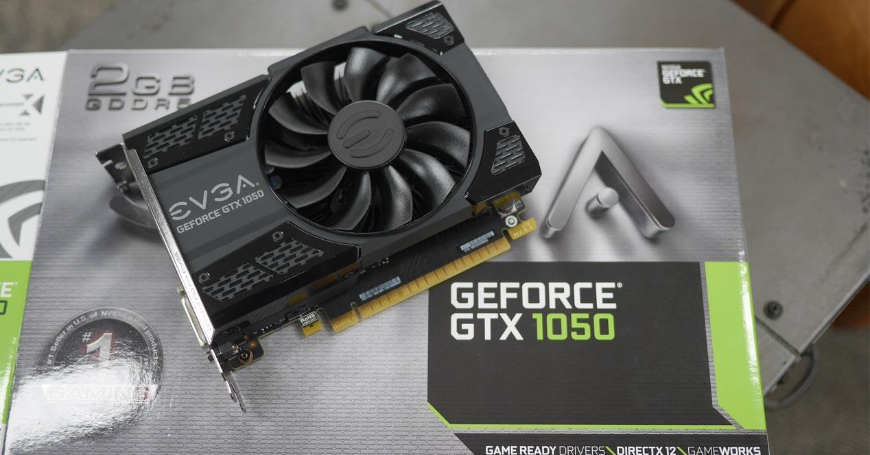 NVIDIA GTX 1050 con 3 GB