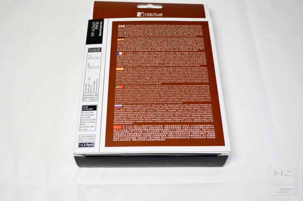 NoctuaNF-A12x25 - Caja 12