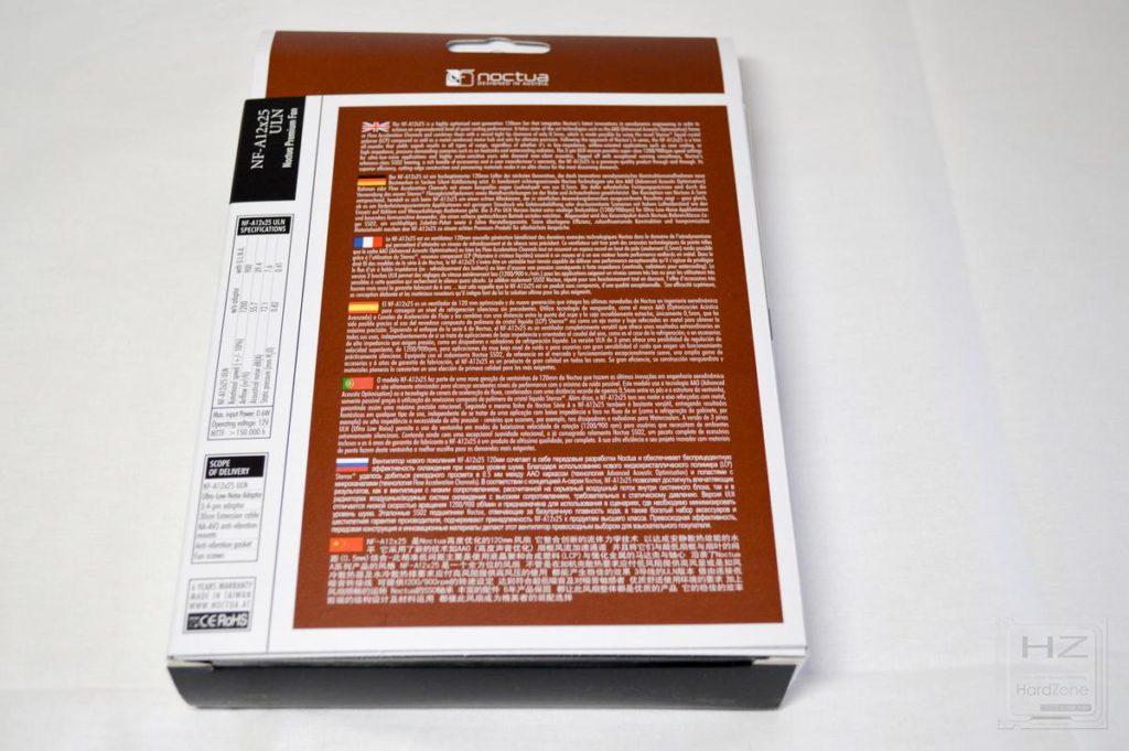 NoctuaNF-A12x25 - Caja 2