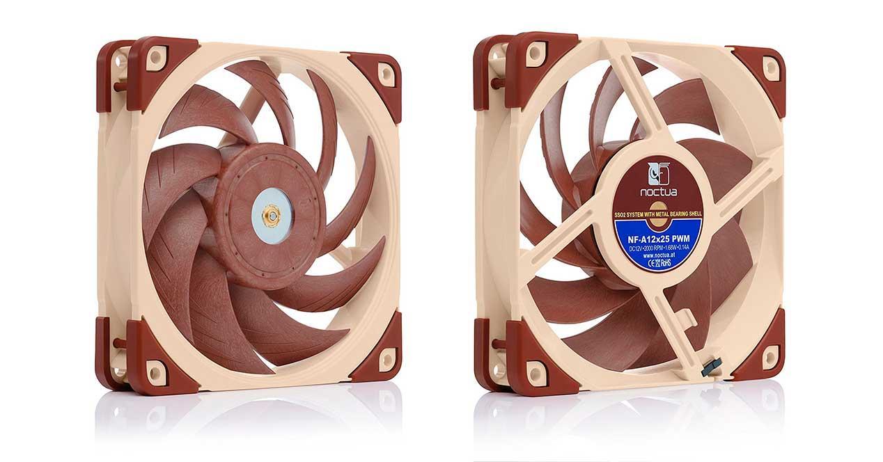 Noctua NF-A12x25 pwm flx uln ventiladores