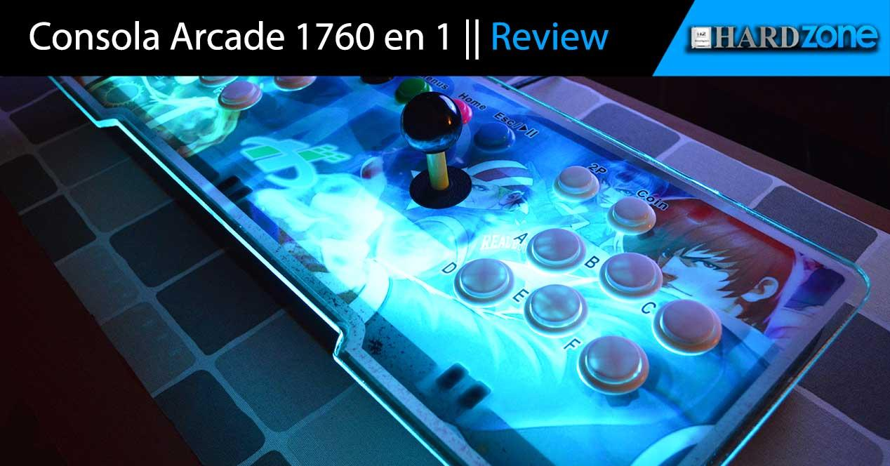 Review consola arcade 1760 en 1