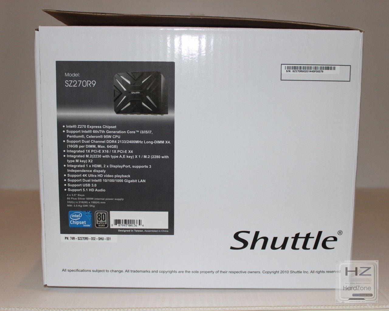 Análisis: Shuttle SZ270R9 - HardZone