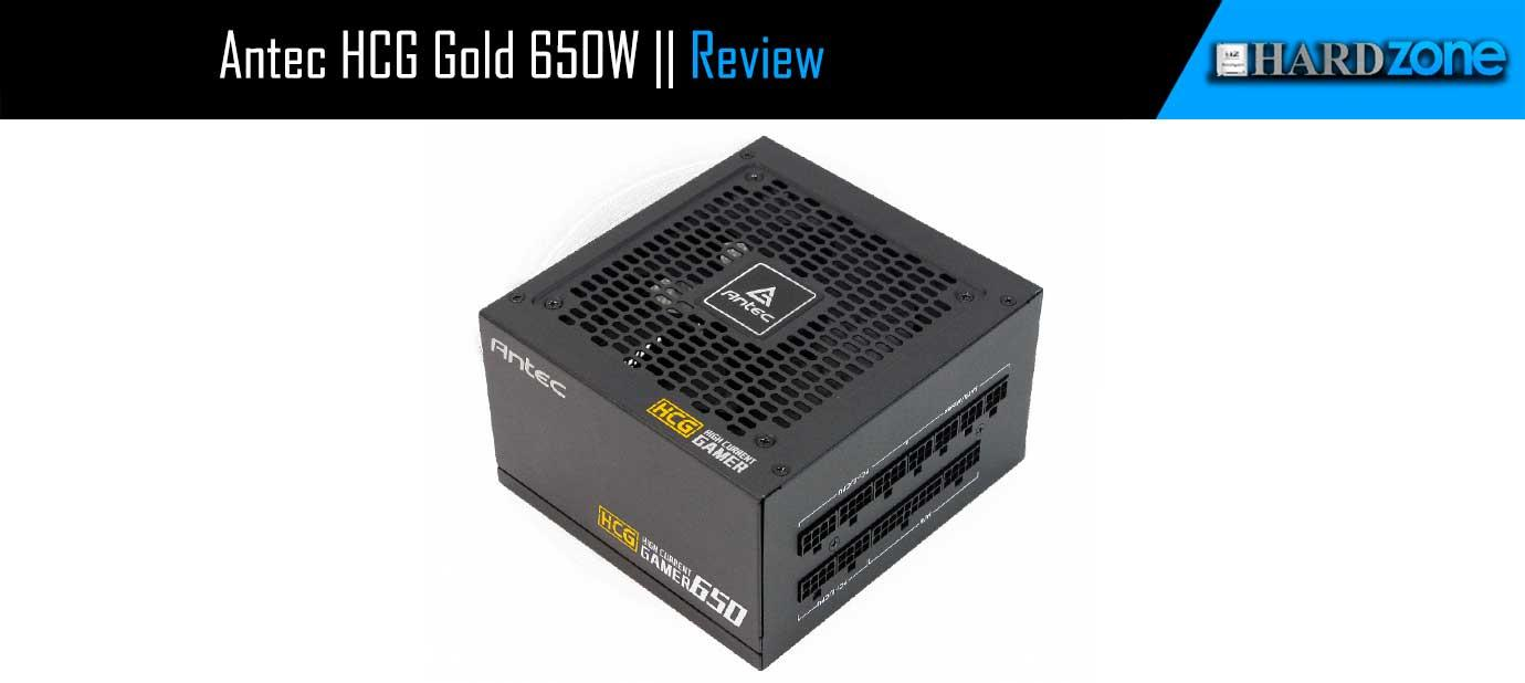 Ver noticia 'Análisis: Antec HCG Gold 650W'