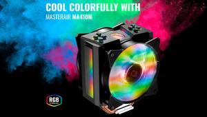 Cooler Master MA410M Smart RGB: disipador que cambia de color con la temperatura