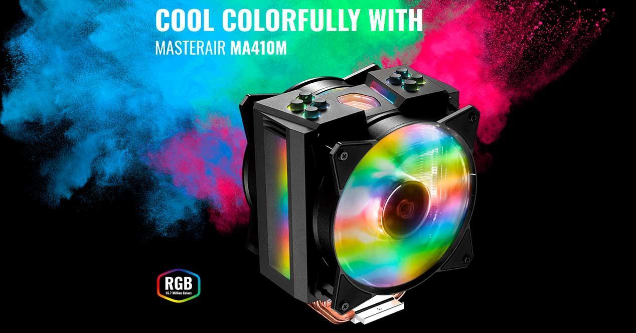 cooler master ma410m smart rgb disipador