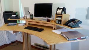 Cómo hacer que tu mesa de PC sea cómoda y ergonómica