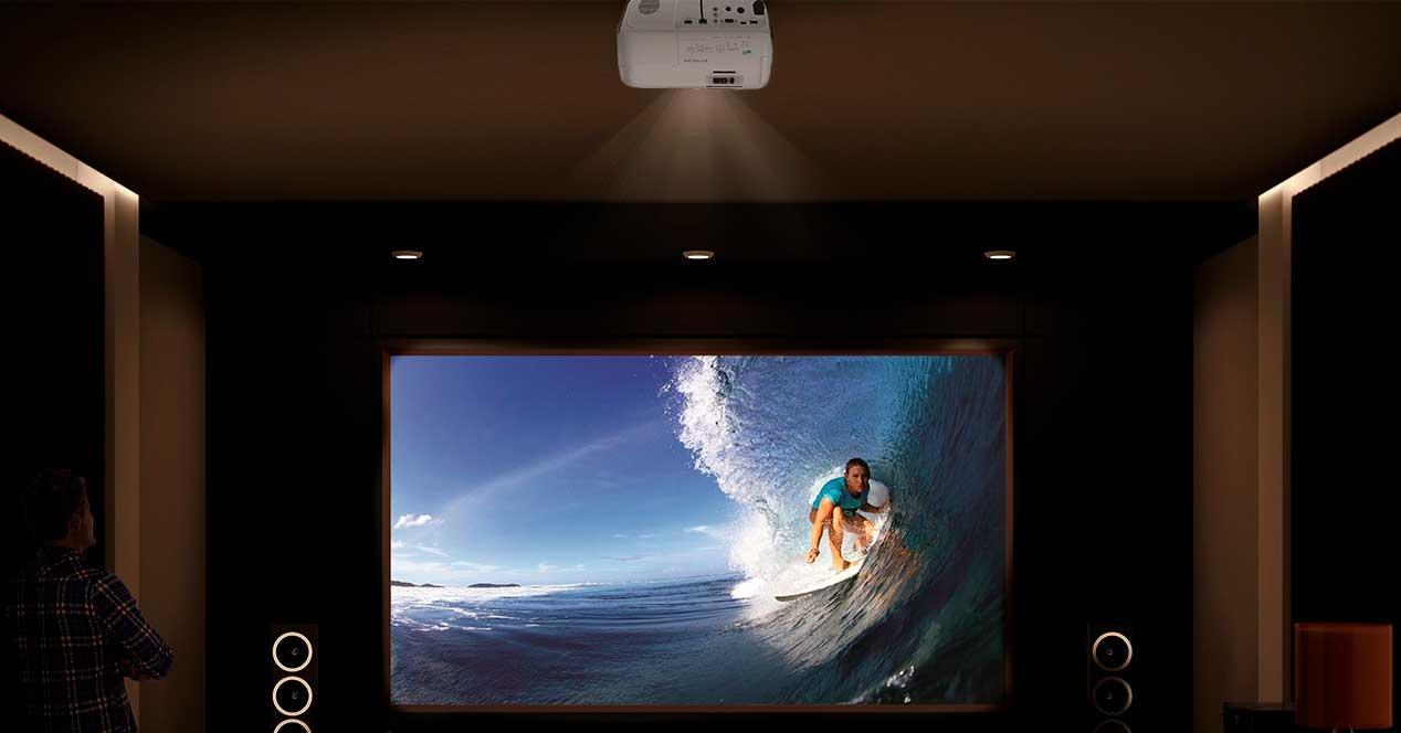 proyectores laser vs proyectores lampara