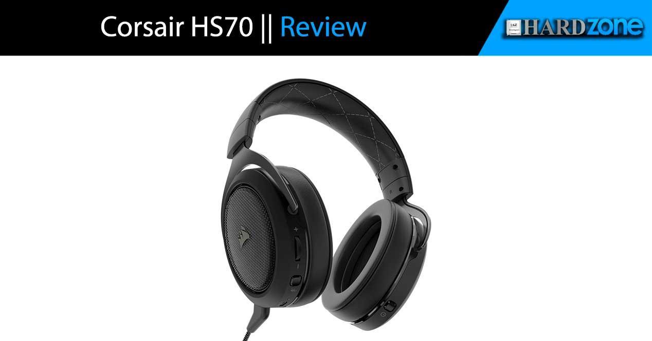 review Corsair HS70