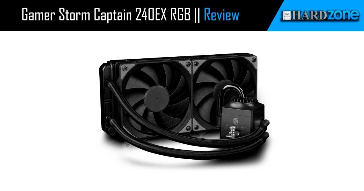 review DeepCool Gamer Storm Captain 240EX RGB