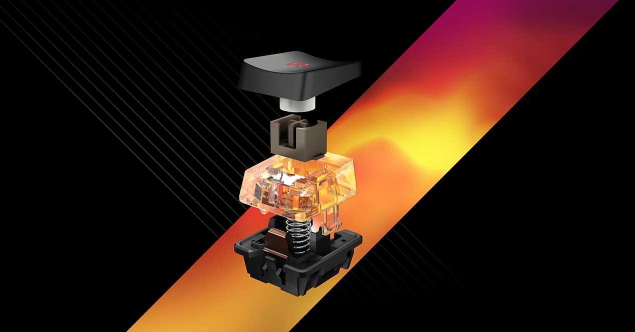 roccat titan switch interruptor mecanico