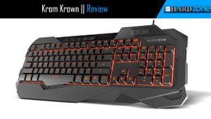 Review: Krom Krown, un teclado de membrana con retroiluminación en tres colores