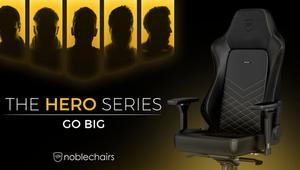 Más grande, más alta y de máxima calidad; así es la nueva Noblechairs HERO