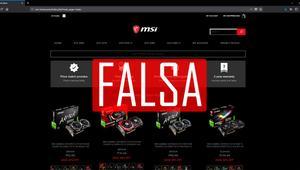 MSI alerta de la venta de tarjetas gráficas falsas con el nombre de la marca