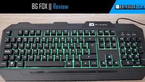 Review: BG FOX, un teclado gaming retroiluminado por menos de 15 euros