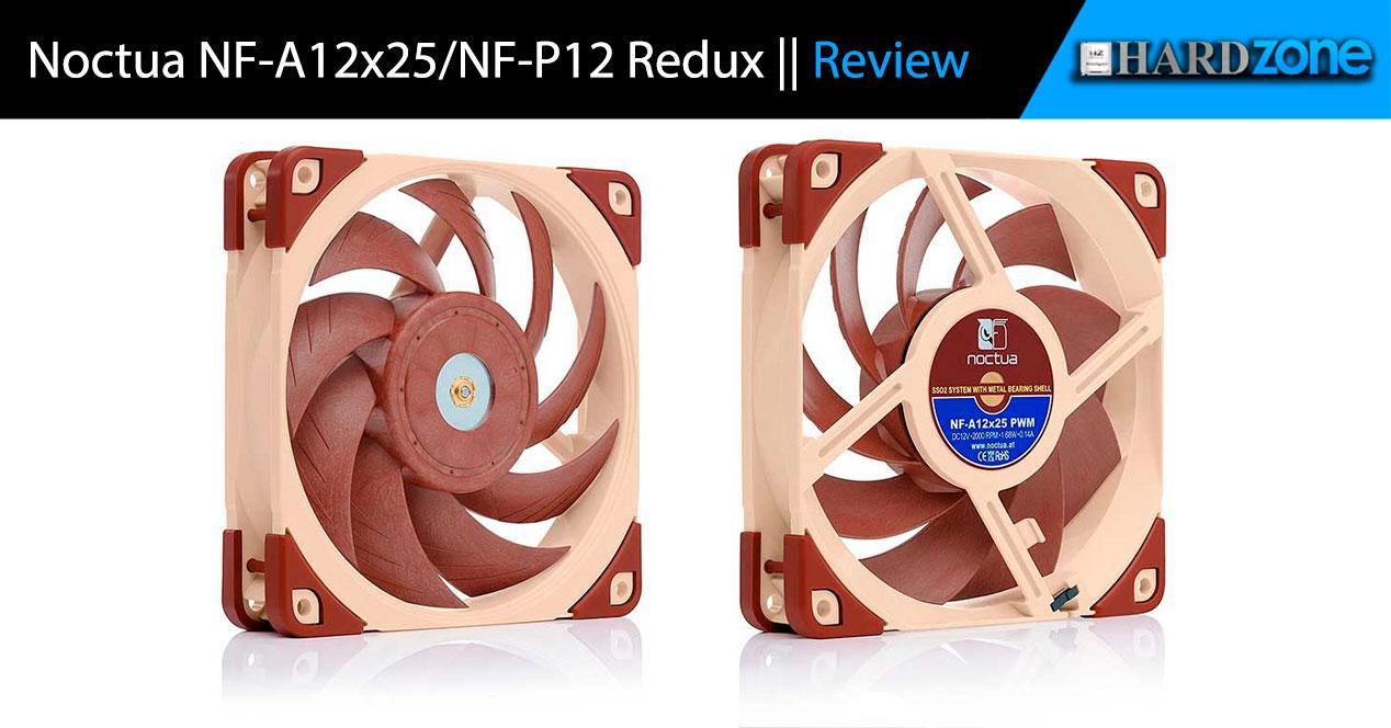 Review noctua NF-A12x25