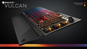 Roccat Vulcan: el teclado mecánico que estrena los interruptores Titan