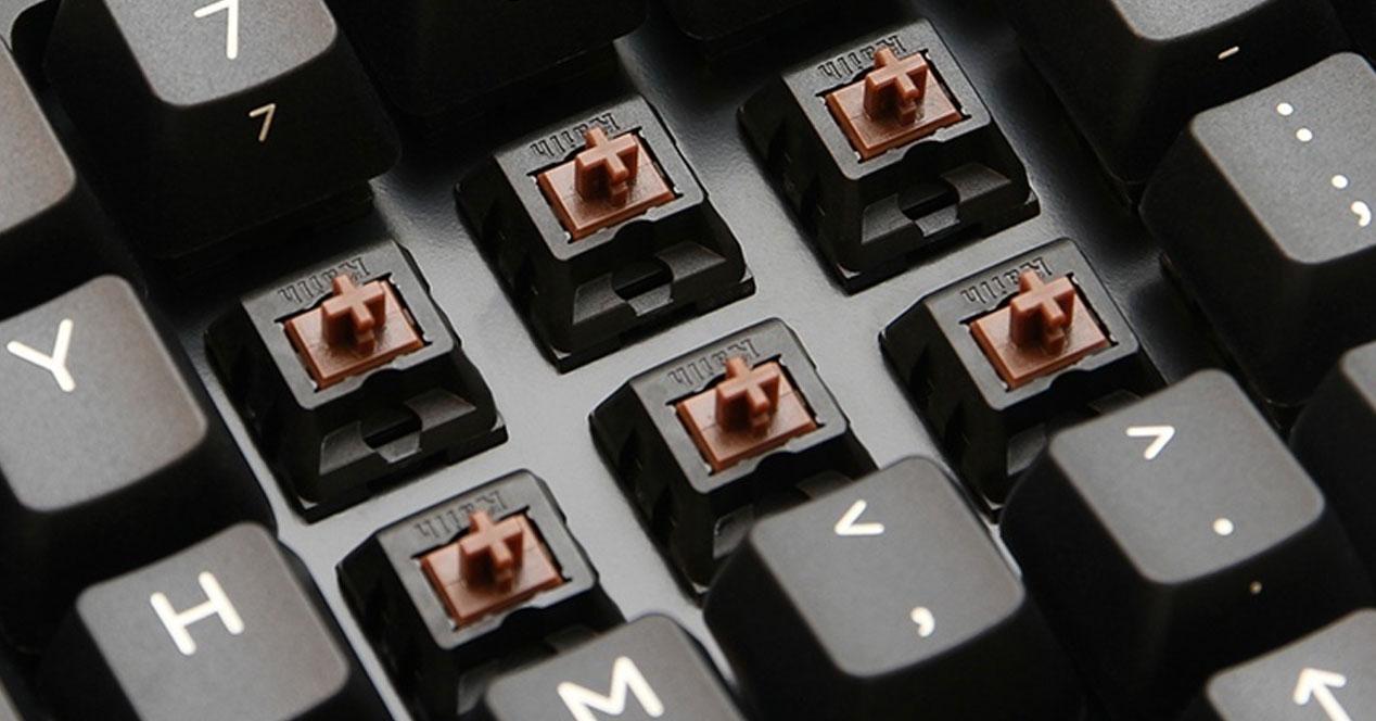 Swityches para teclados mecánicos