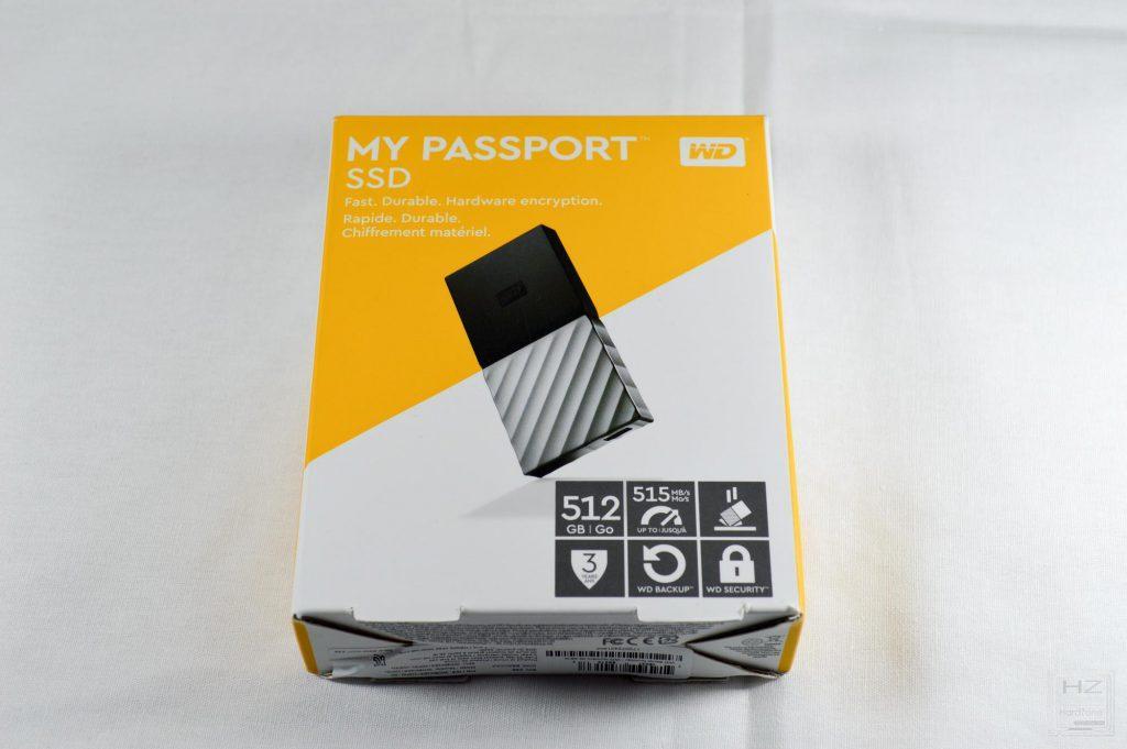 Western Digital My Passport SSD - Caja 1