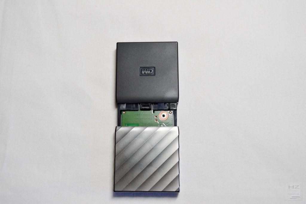 Western Digital My Passport SSD - Interior