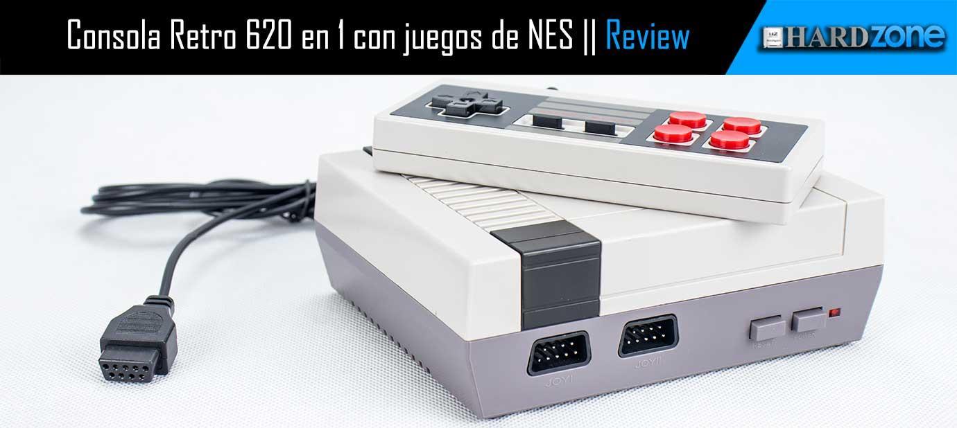 análisis Consola Retro 620 en 1 con juegos de NES