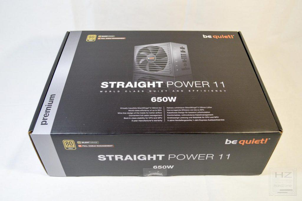 be quiet! Straight Power 11 650W - Caja 1