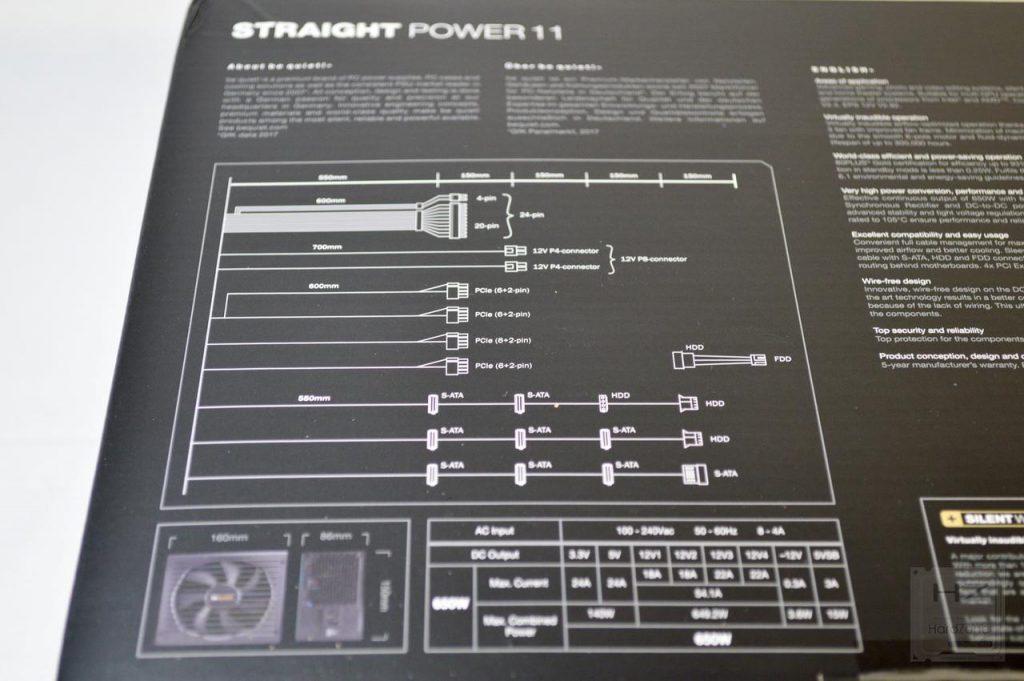 be quiet! Straight Power 11 650W - Caja 3