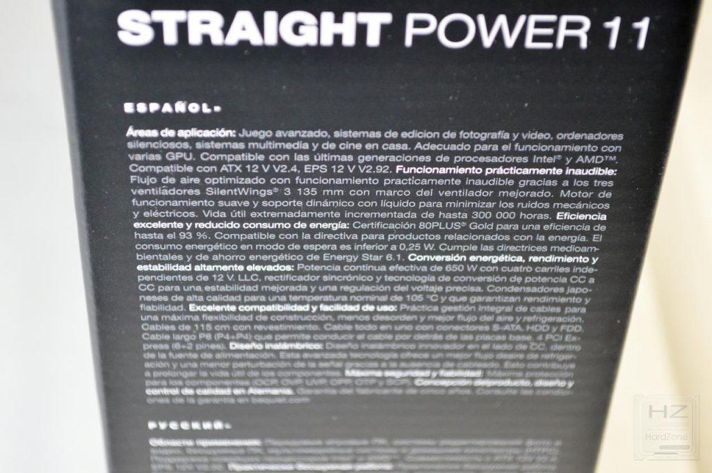 be quiet! Straight Power 11 650W - Caja 5