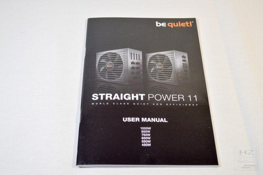 be quiet! Straight Power 11 650W - Manual 1
