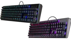 Cooler Master CK550 y CK552: nuevos teclados mecánicos gaming RGB con un diseño minimalista