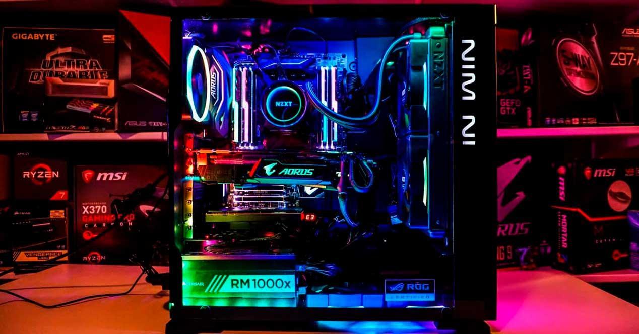 organizar cables dentro del ordenador
