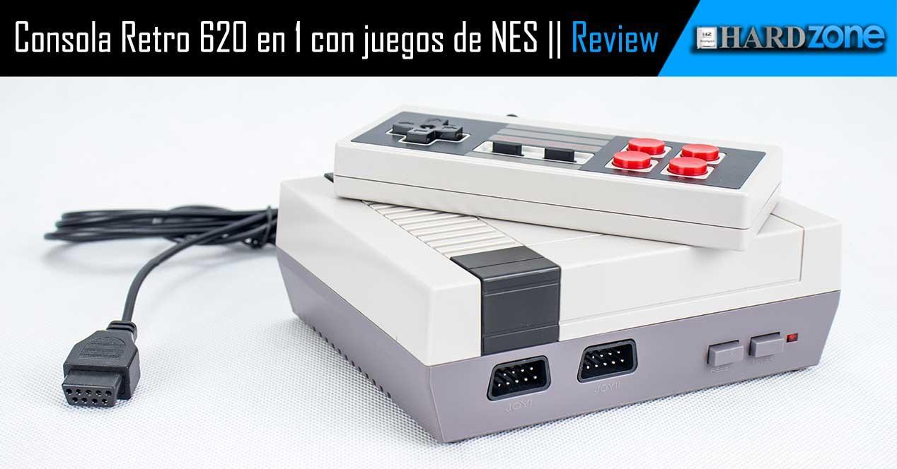 review Consola Retro 620 en 1 con juegos de NES