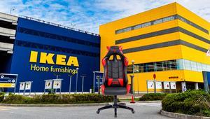 Ikea está diseñando una silla gaming que se adapta a tu cuerpo