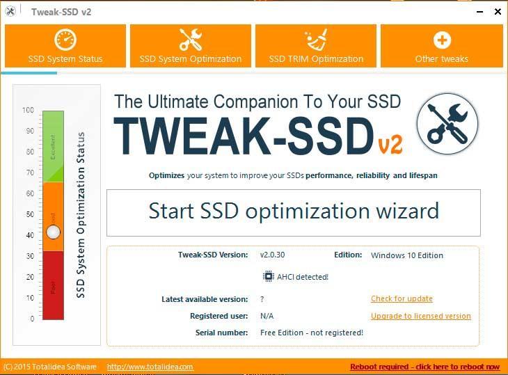 Tweak SSD v2