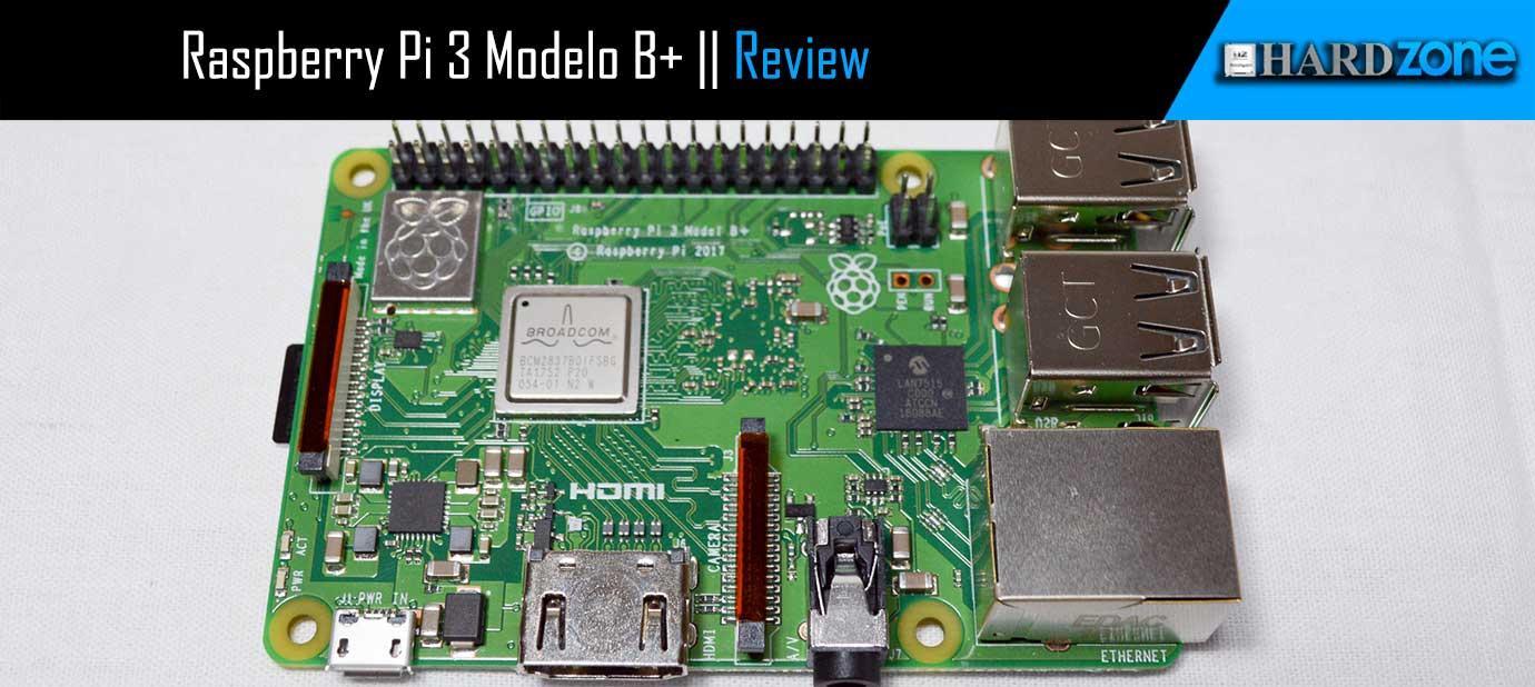Análisis Raspberry Pi 3 Modelo B+