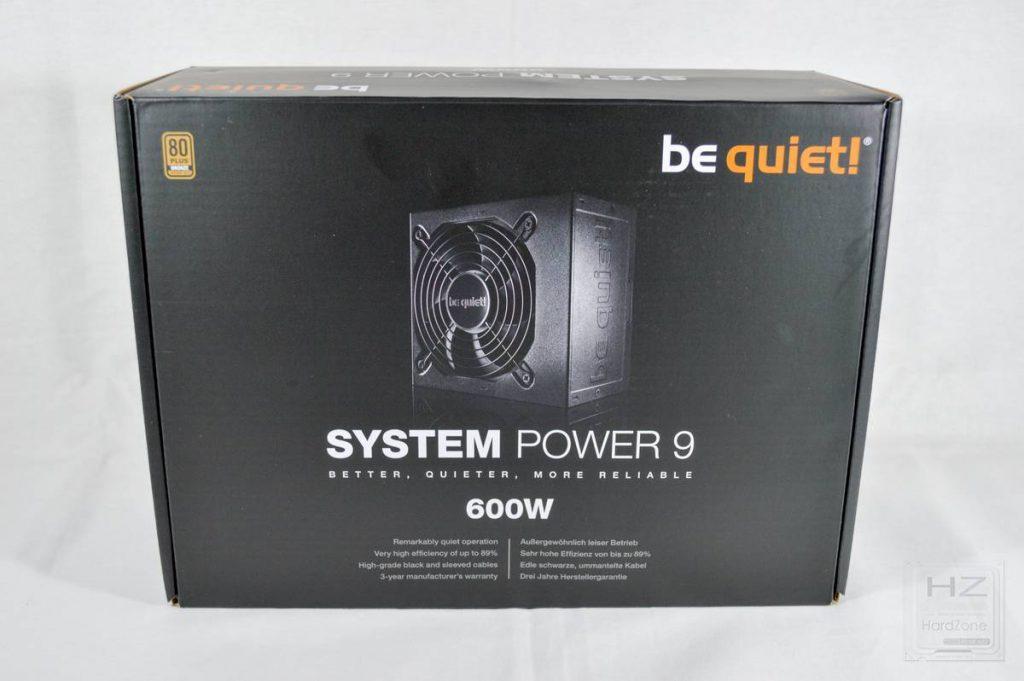 Análisis be quiet! System Power 9 600W - Caja 1
