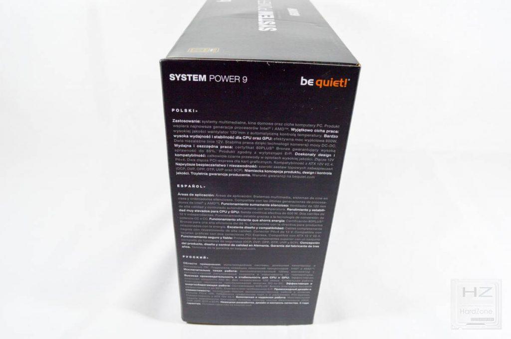 Análisis be quiet! System Power 9 600W - Caja 2