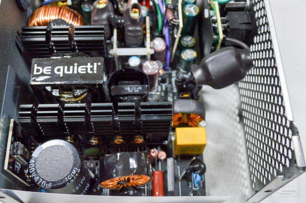 Análisis be quiet! System Power 9 600W - Interior fuente