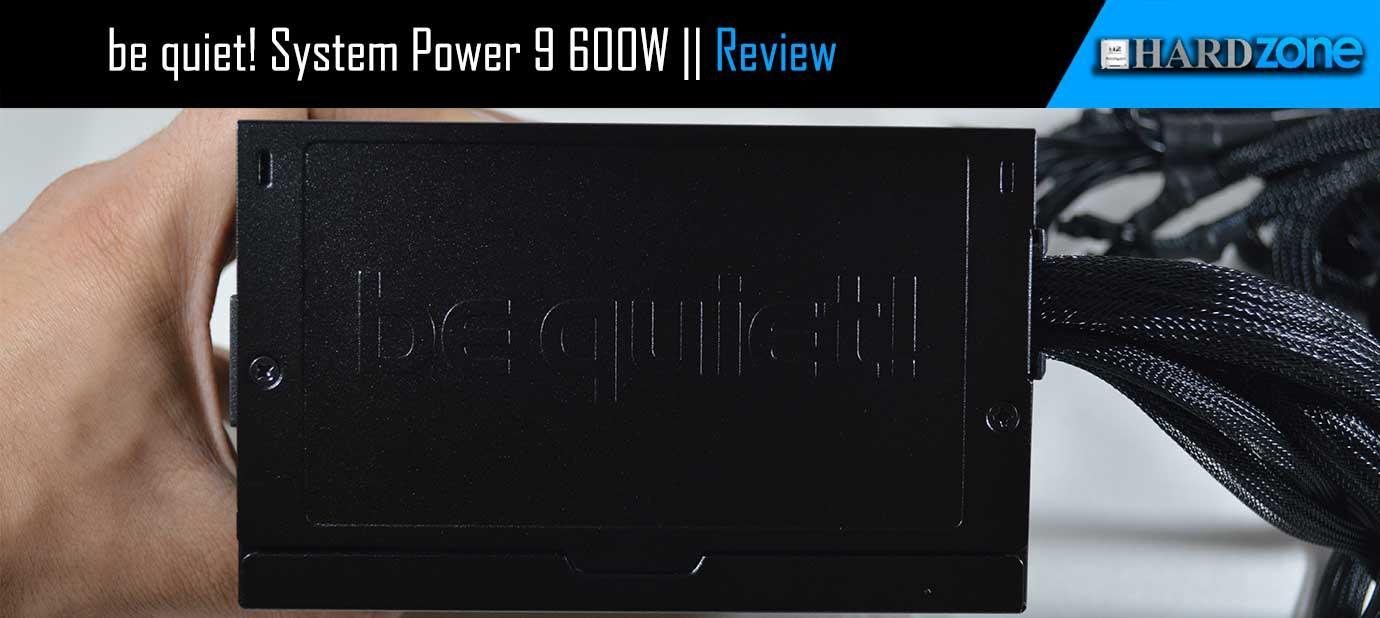 Análisis be quiet! System Power 9 de 600W