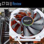 Analisis Cryorig C7 CU