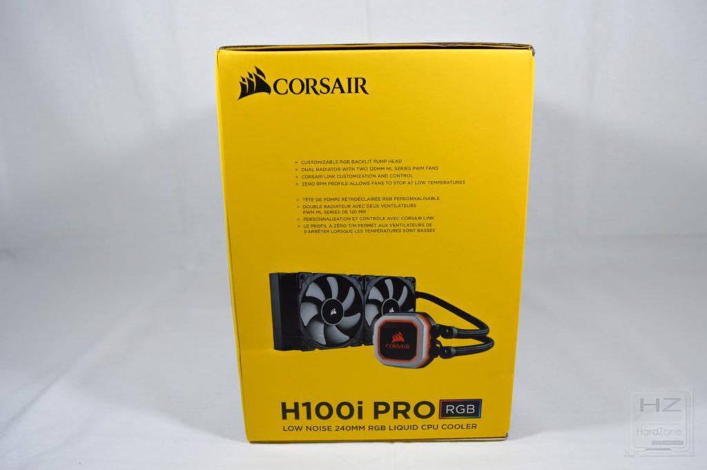 Corsair H100i PRO - Caja 2