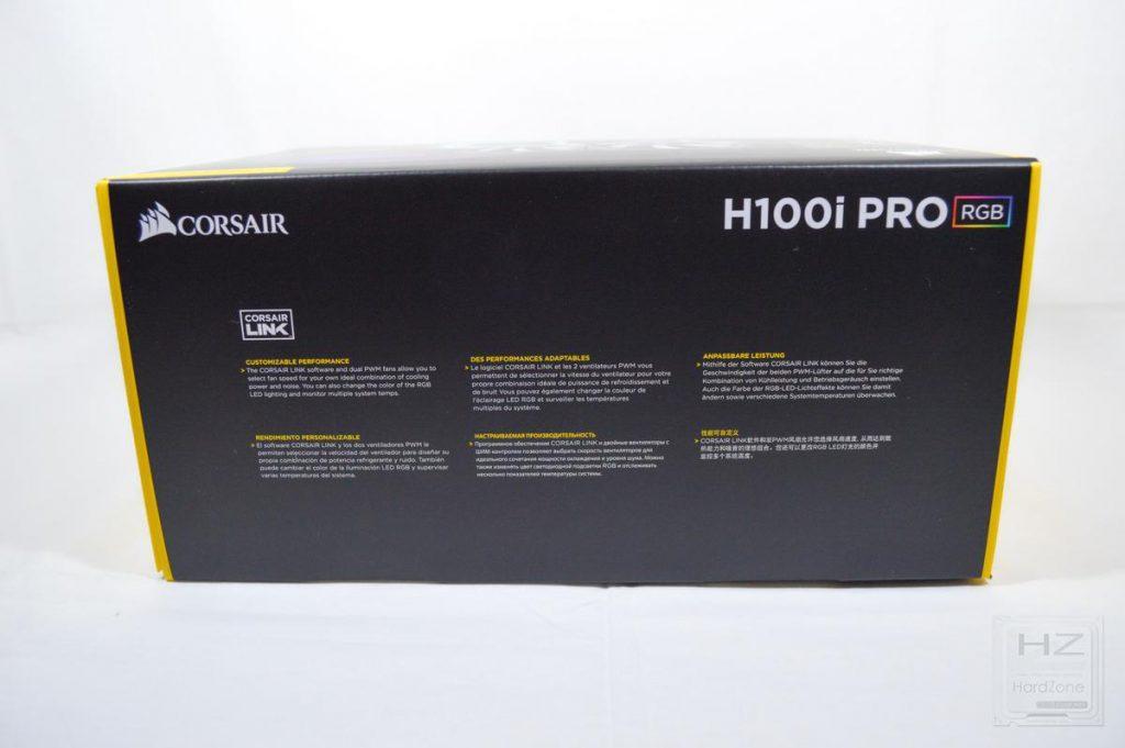 Corsair H100i PRO - Caja 5