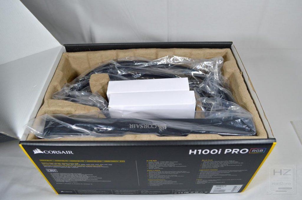 Corsair H100i PRO - Caja abierta 2