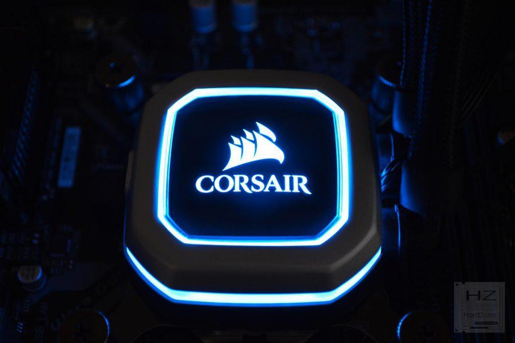 Corsair H100i PRO - Test 1