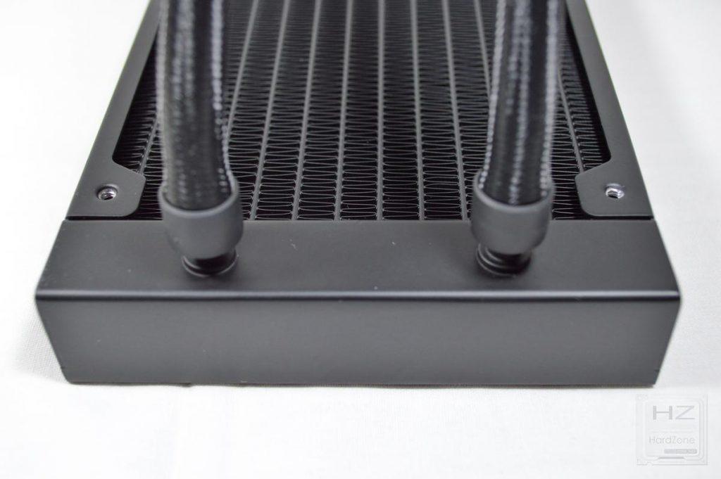Corsair H100i PRO - Tubos radiador