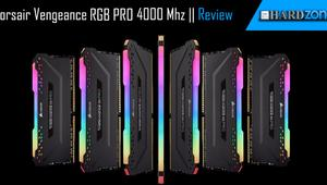Review: Corsair Vengeance RGB PRO DDR4 4000 Mhz, las nuevas tope de gama de Corsair