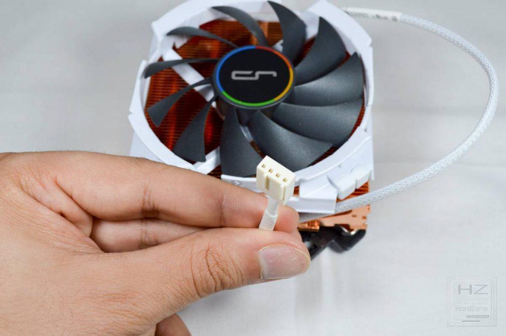 Cryorig C7 CU - Conector ventilador