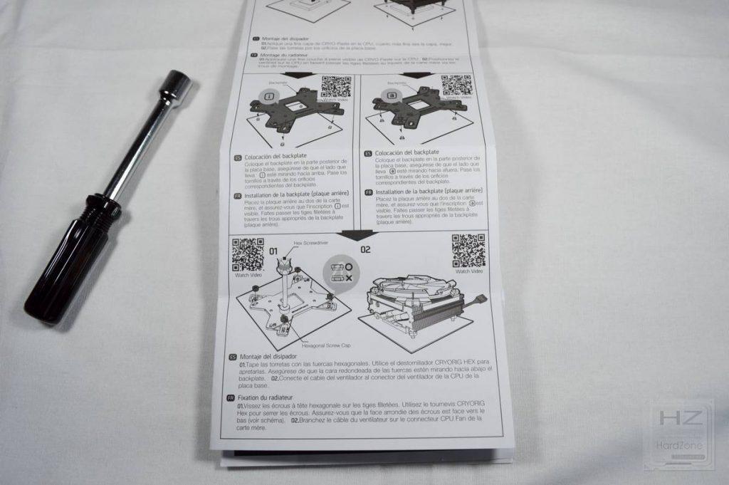 Cryorig C7 CU - Instrucciones montaje 2