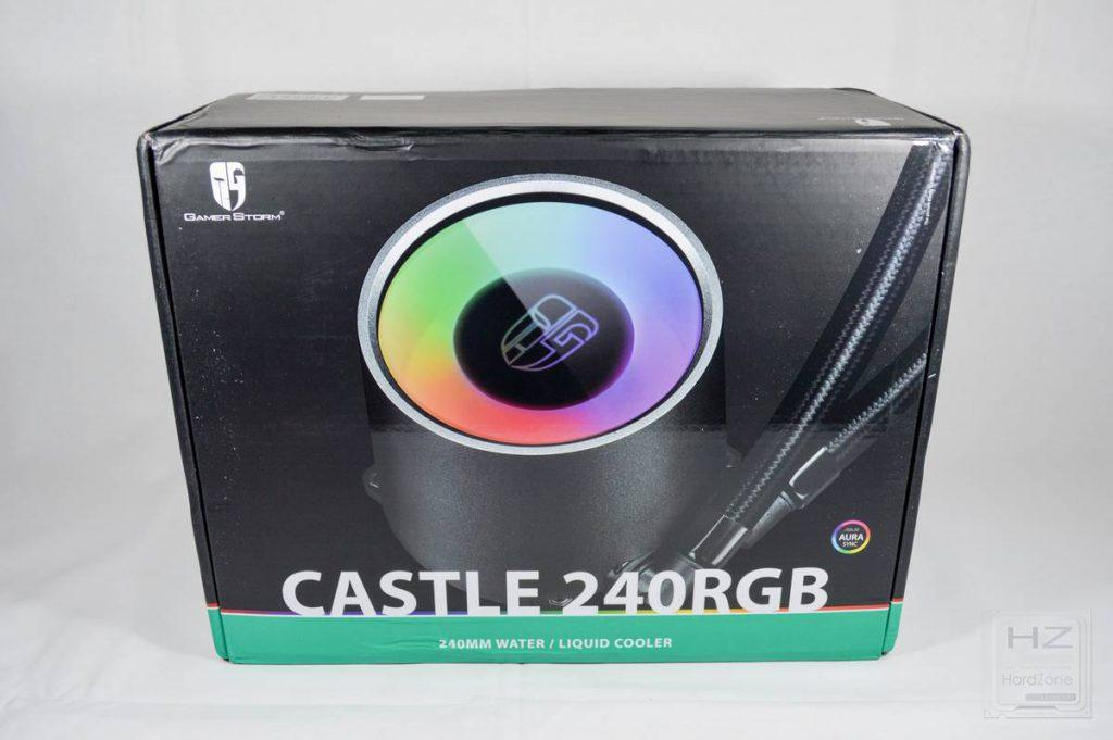 DeepCool GamerStorm Castle 240 RGB - Caja 1