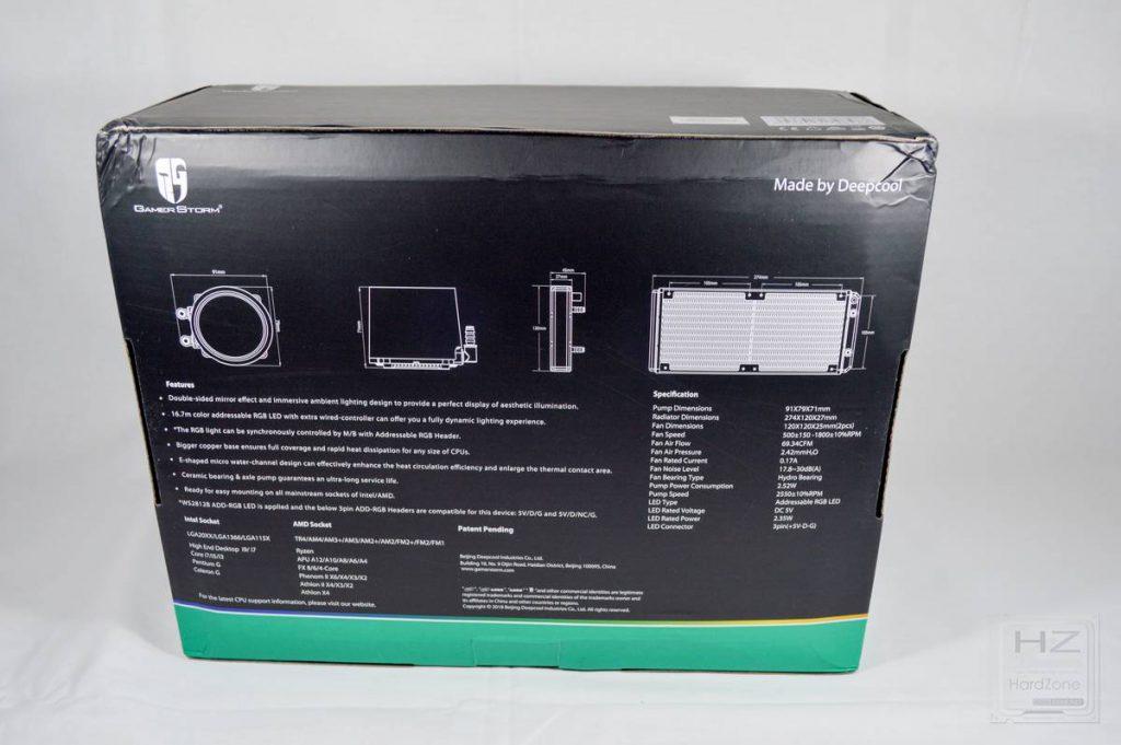 DeepCool GamerStorm Castle 240 RGB - Caja 2